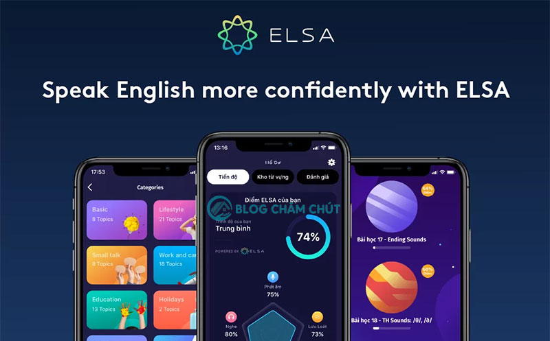 Học tiếng Anh giao tiếp với Elsa Speak