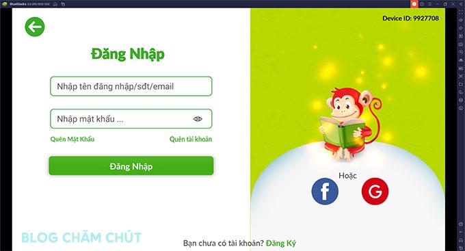 app monkey junior trên máy tính