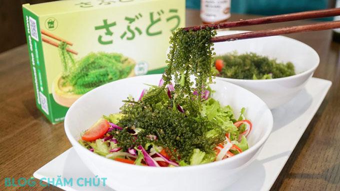 rong nho sabudo là loại thực phẩm tốt cho cả gia đình