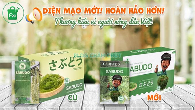 rong nho sabudo thay đổi diện mạo mới