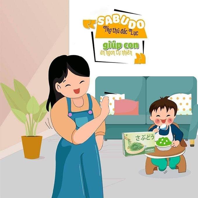 rong nho sabudo tốt cho trẻ em